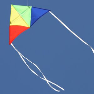 Aussie Delta Australian made delta kids kite from Windspeed Kites wholesale supplier to toy and hobby industry