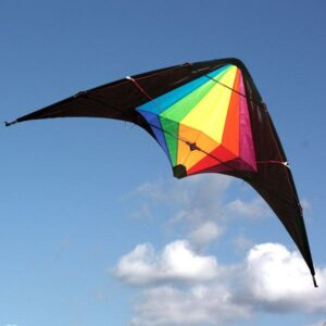 Black Widow stunt kite from Windspeeed Kites, Australia's wholesale kite supplier