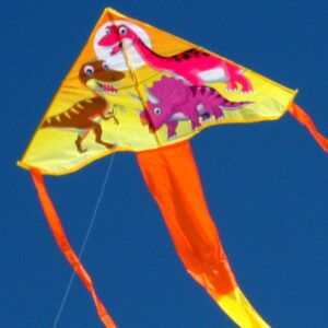 Dinosaur kite for kids available in toy shops and hobby shops supplied by Windspeed Kites wholesale supplier