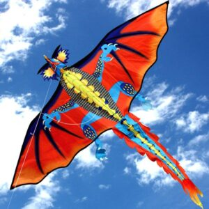 Fire Dragon single string kite supplied to toy and hobby stores by Windspeed Kites wholesaler