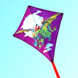 Dragon kite, part of Windspeed Kites wholesale range for toy stores