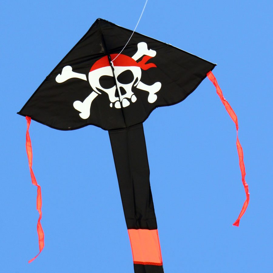 Windspeed Kites Pirate Delta Kite for kids